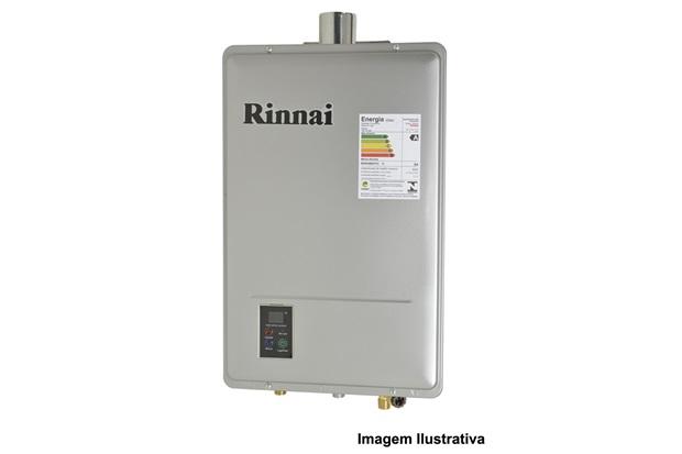 Aquecedor a gás Rinnai